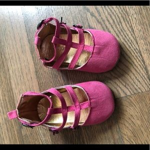 Little girls gladiator shoes